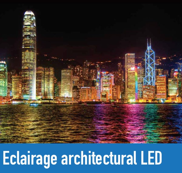 Eclairage architectural led
